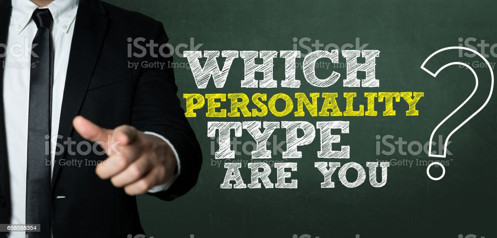 Which Personality Type Are You? stock photo