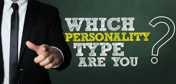 which personality type are you? - personaggio foto e immagini stock