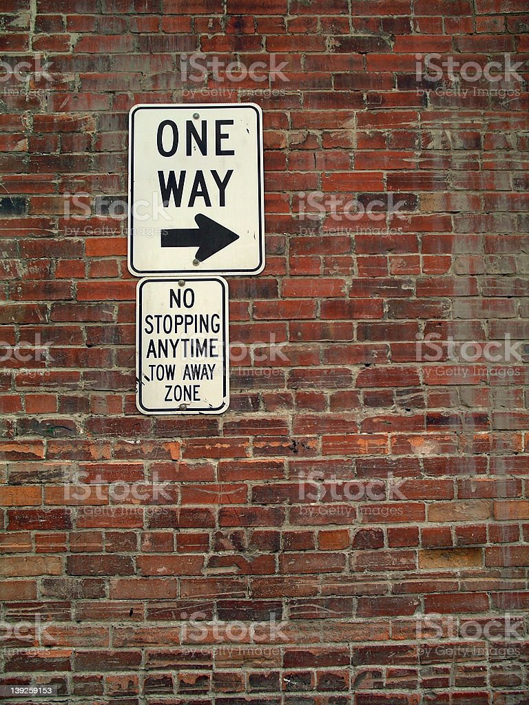 Which Way? royalty-free stock photo