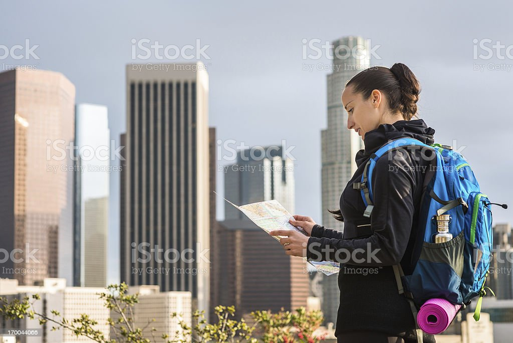 Which way royalty-free stock photo