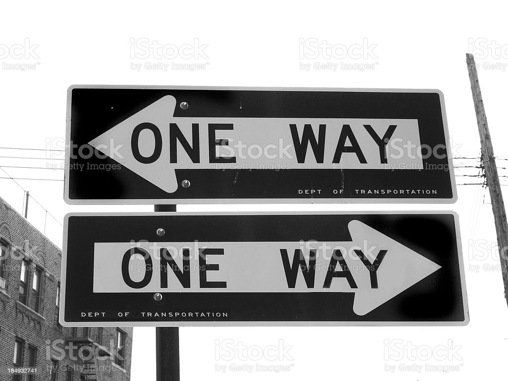 Which way??? royalty-free stock photo