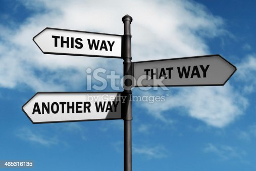 istock Which way to go? 465316135
