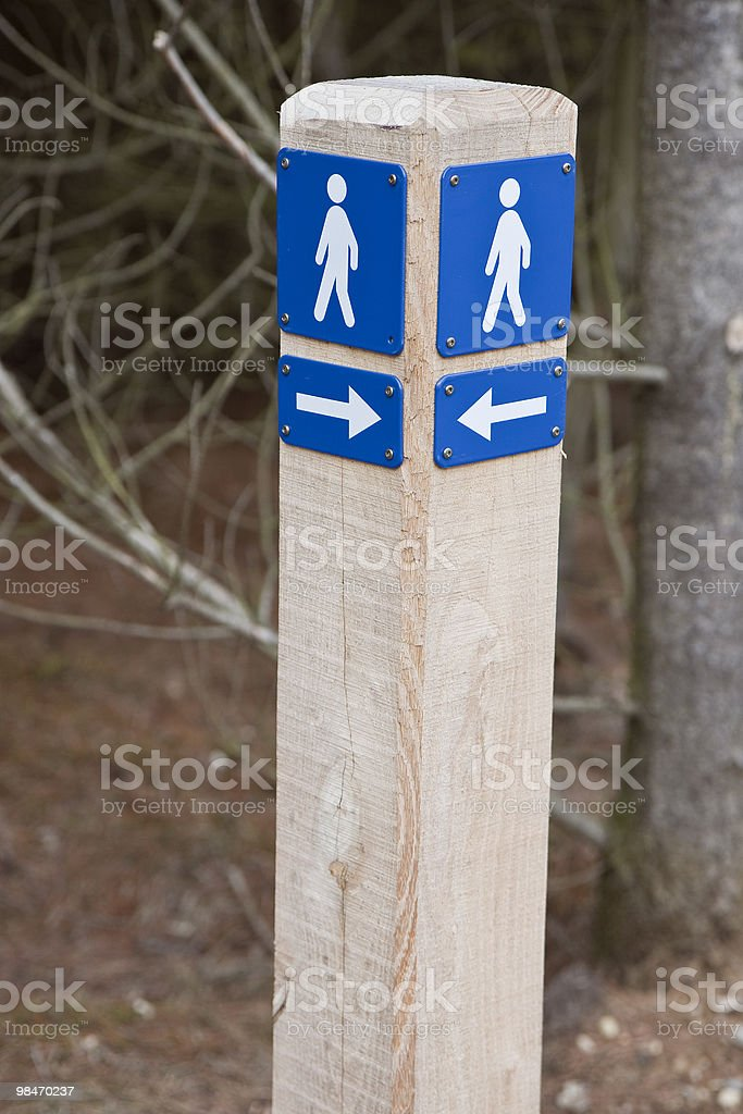 Which Way To Go? royalty-free stock photo
