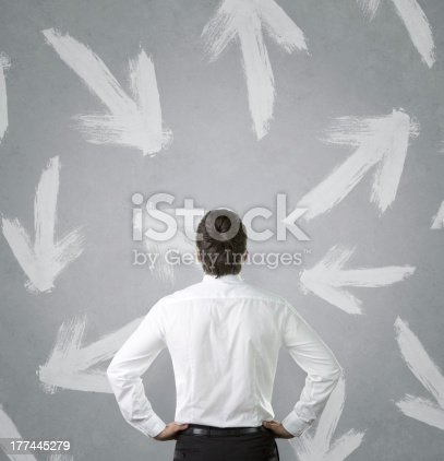 istock Which way to the success? 177445279