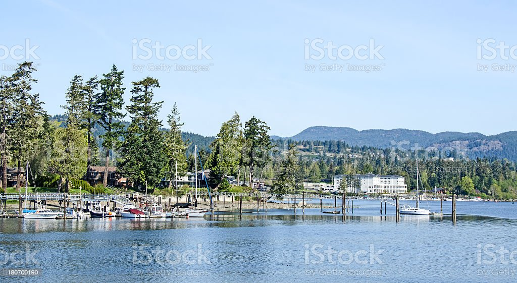 Whiffin Spit in Sooke royalty-free stock photo
