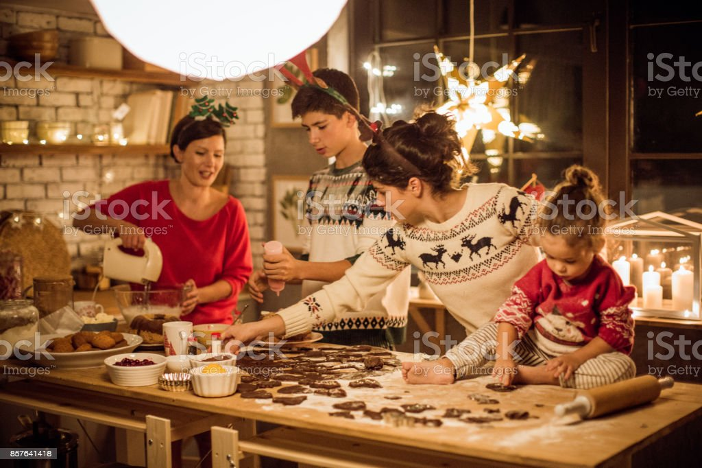 Während Weihnachten erwartet – Foto