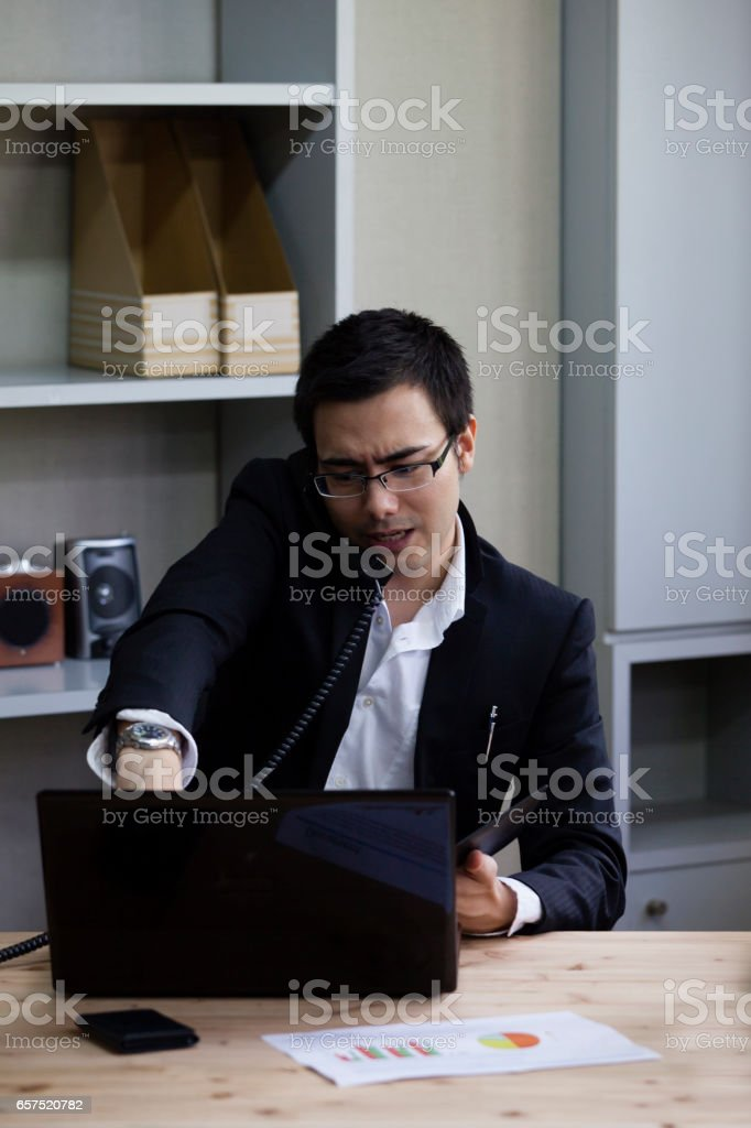 While the PC business stock photo