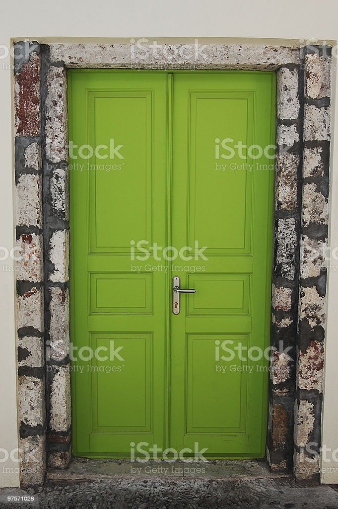 Whimsical Door royalty-free stock photo