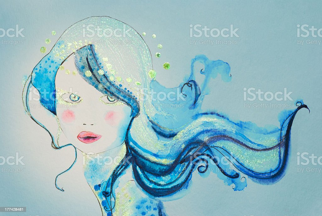 Whimsical royalty-free stock photo