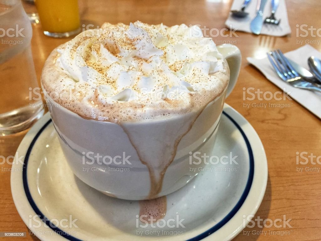 Whipped Coffee stock photo