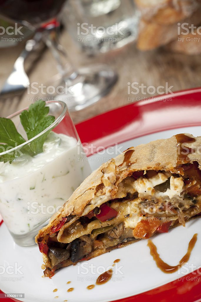 strudel royalty-free stock photo