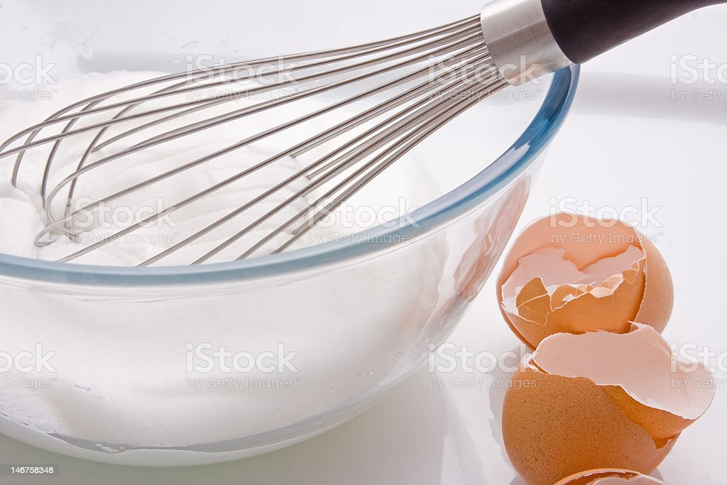 Whisk and Whites - Royalty-free Bowl Stock Photo