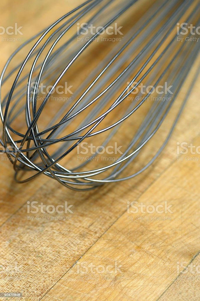 Whisk royalty-free stock photo