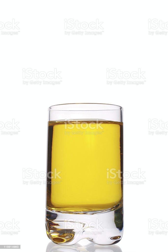 whiskey and lemon stock photo