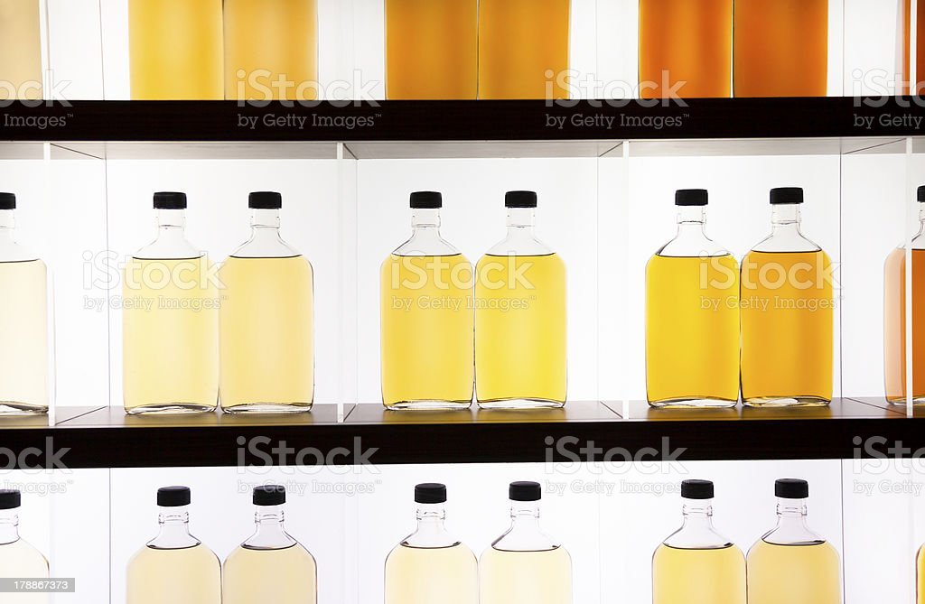 Whiskey and wine  collection royalty-free stock photo