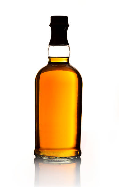 whiskey bottle - whiskey stock photos and pictures