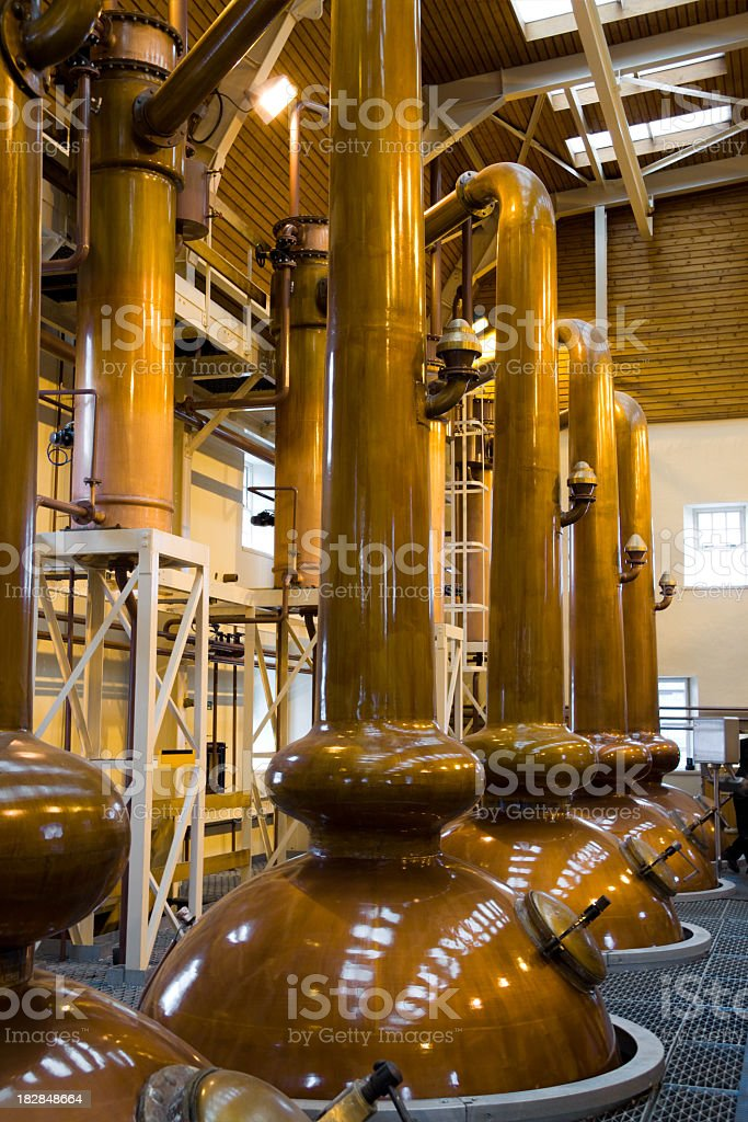 Whiskey Distilery stock photo