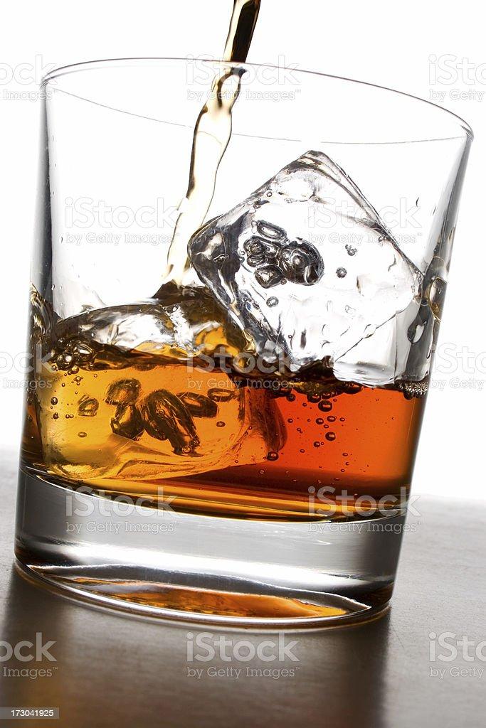 Whiskey Glass royalty-free stock photo
