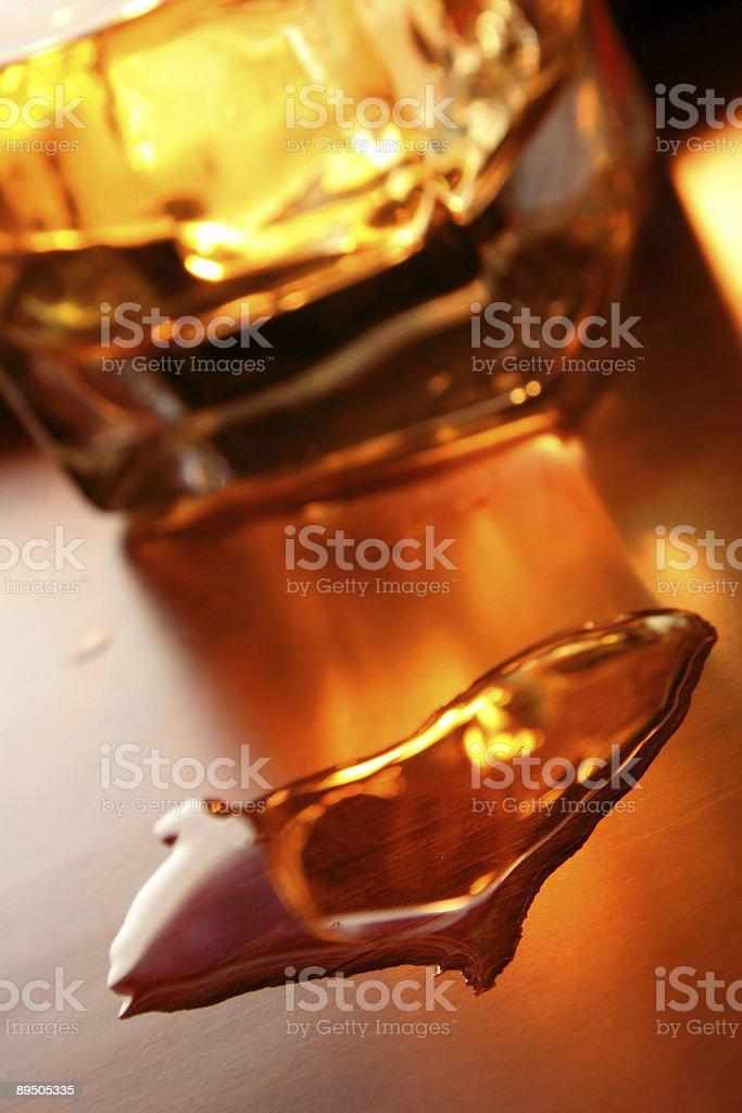 Whiskey Heart royalty-free stock photo