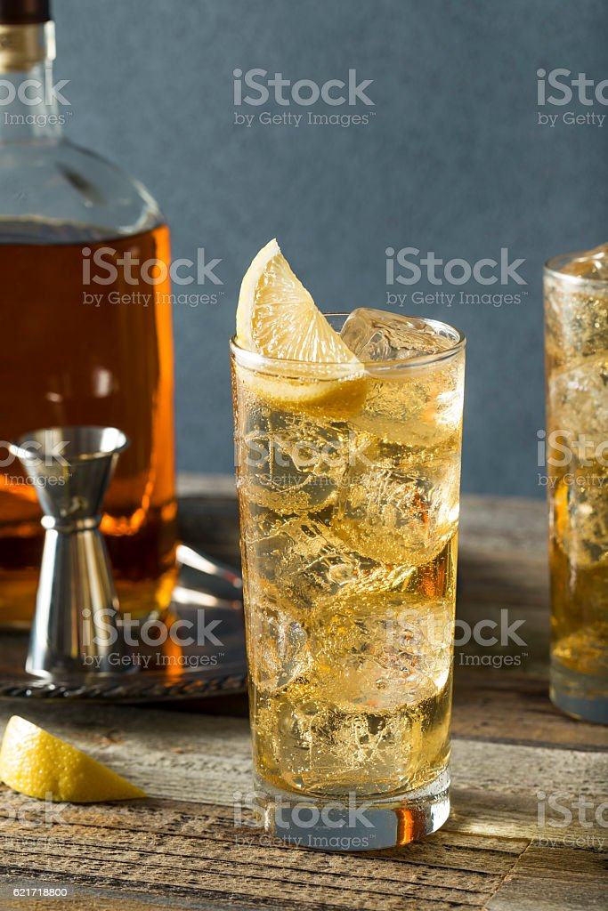 Whiskey Highball With Ginger Ale Stock Photo Download Image Now