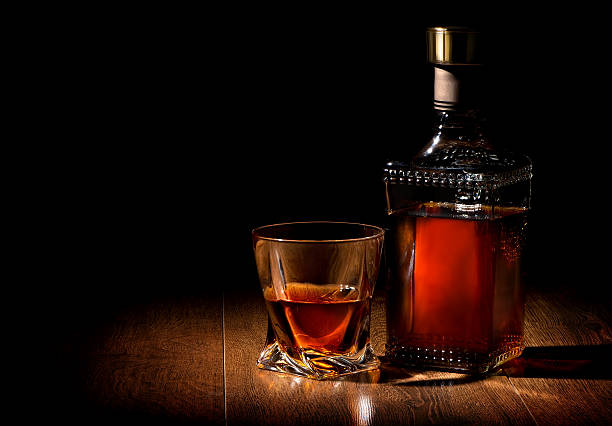 Whiskey sur table - Photo
