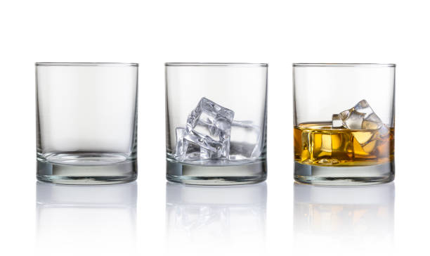 whiskey - glass stock photos and pictures