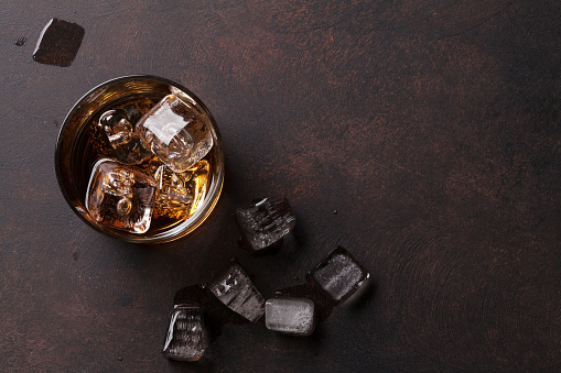 istock Whiskey with ice 887224554