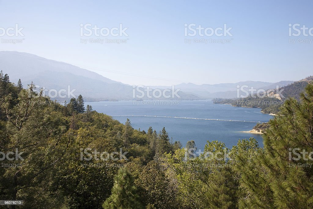 Whiskeytown Lake royalty-free stock photo
