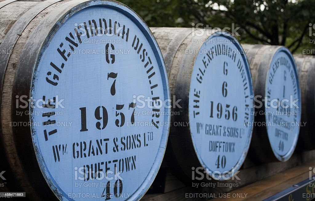 Whisky Barrel's stock photo