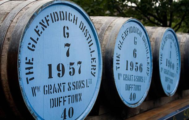 Whisky Barrel's stock photo