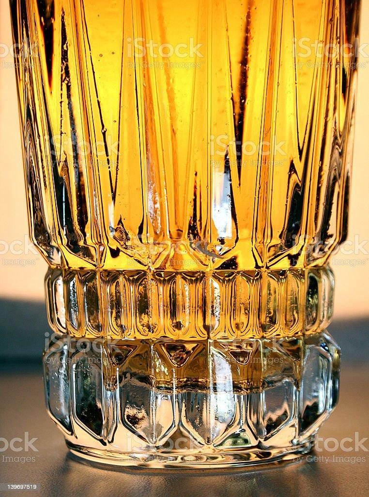 Whisky glass royalty-free stock photo