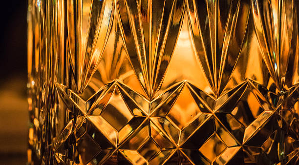 Whisky Glass stock photo