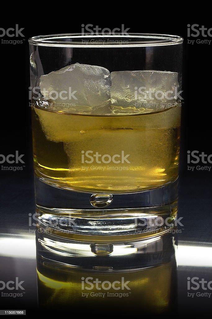 Whisky? On the rocks! royalty-free stock photo