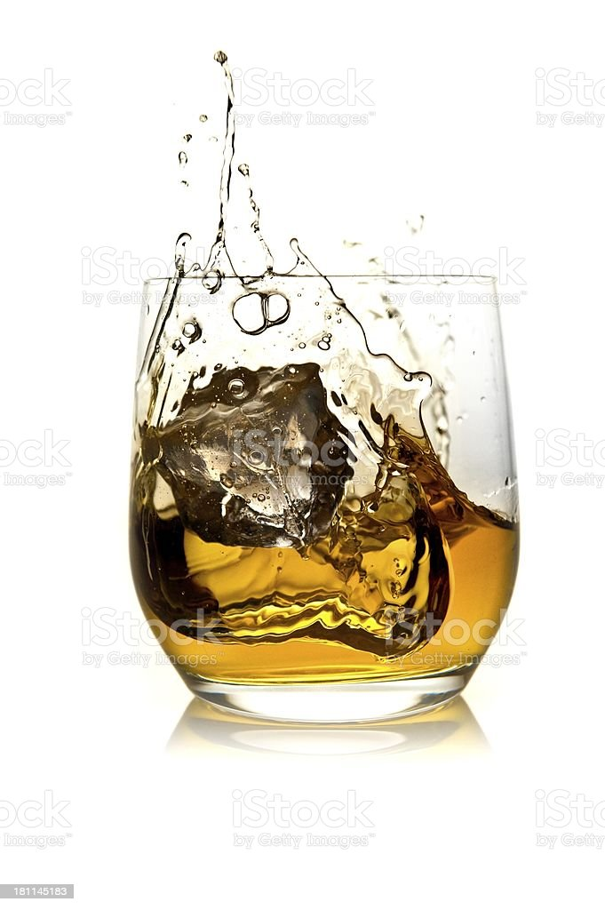 Whisky royalty-free stock photo
