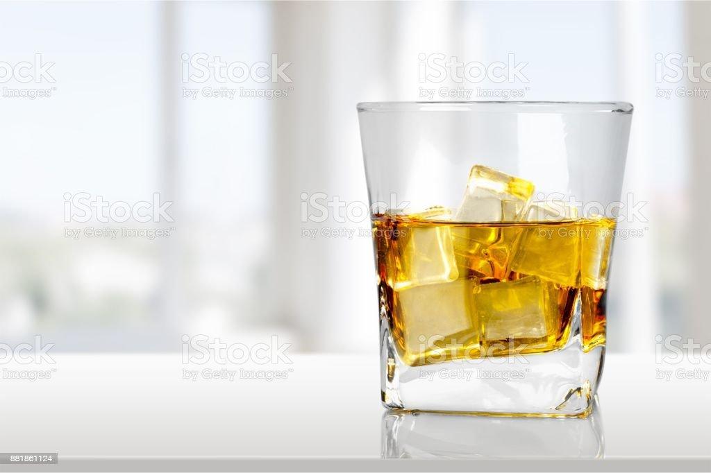 Whisky. stock photo