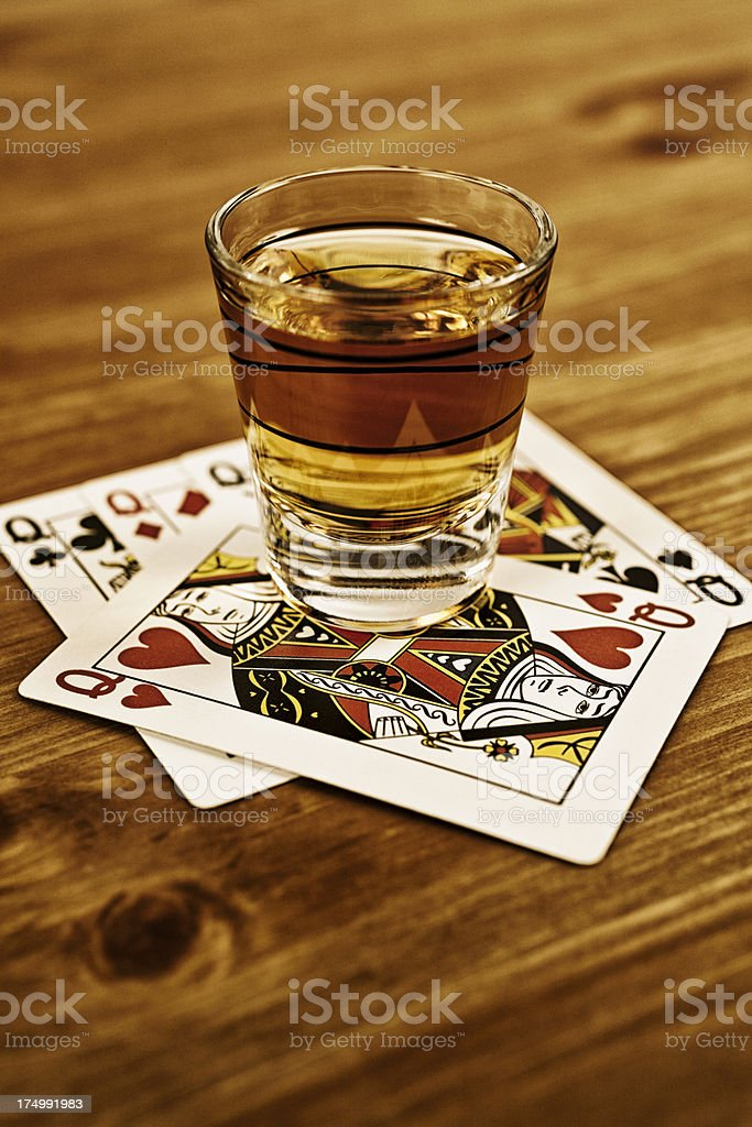 Whisky Queens stock photo