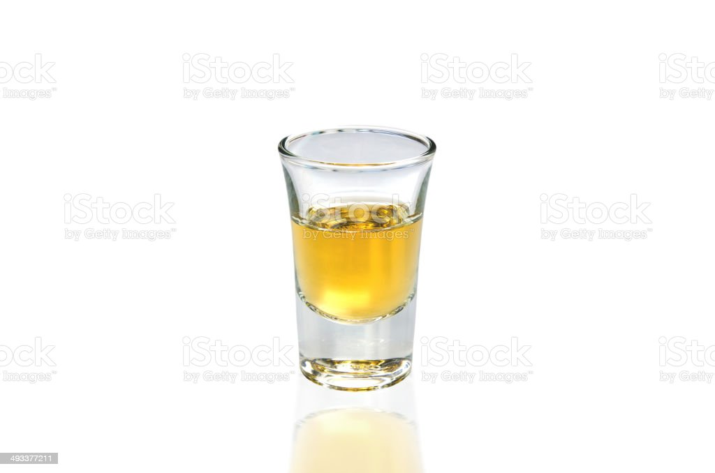 Whisky Shot stock photo