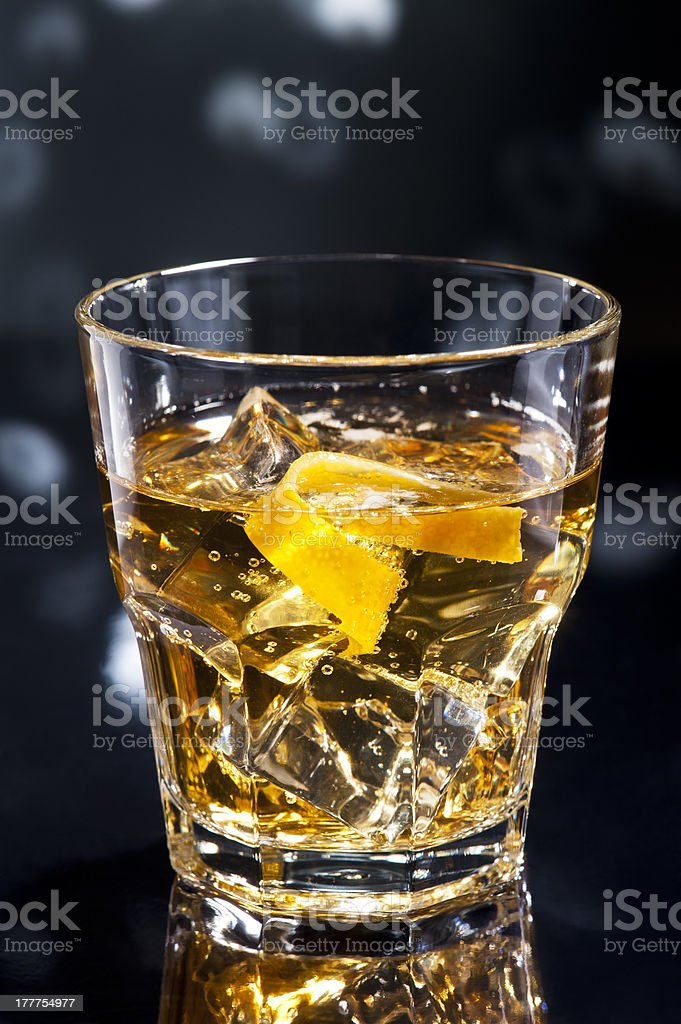 Whisky sour royalty-free stock photo