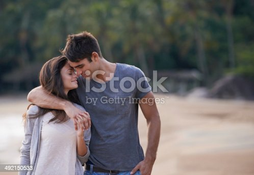 istock Whispering sweet nothings 492150533