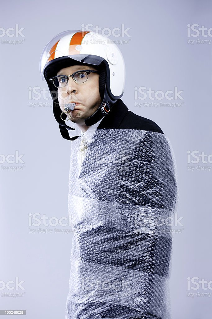 Whistle Blower Protection stock photo