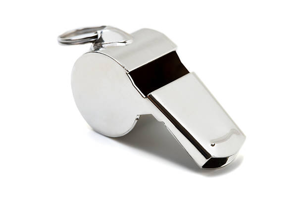Whistle stock photo