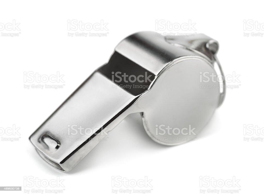 Whistle royalty-free stock photo