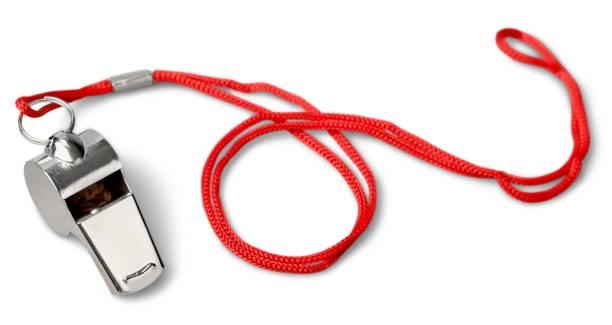 Whistle. stock photo