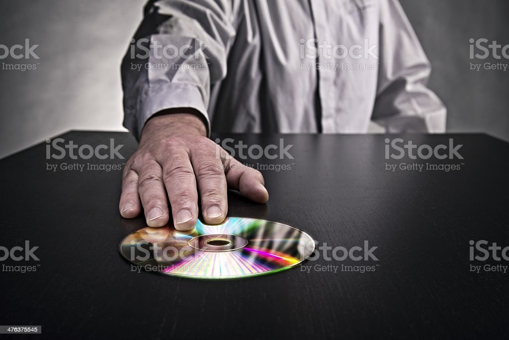 Whistleblower stock photo