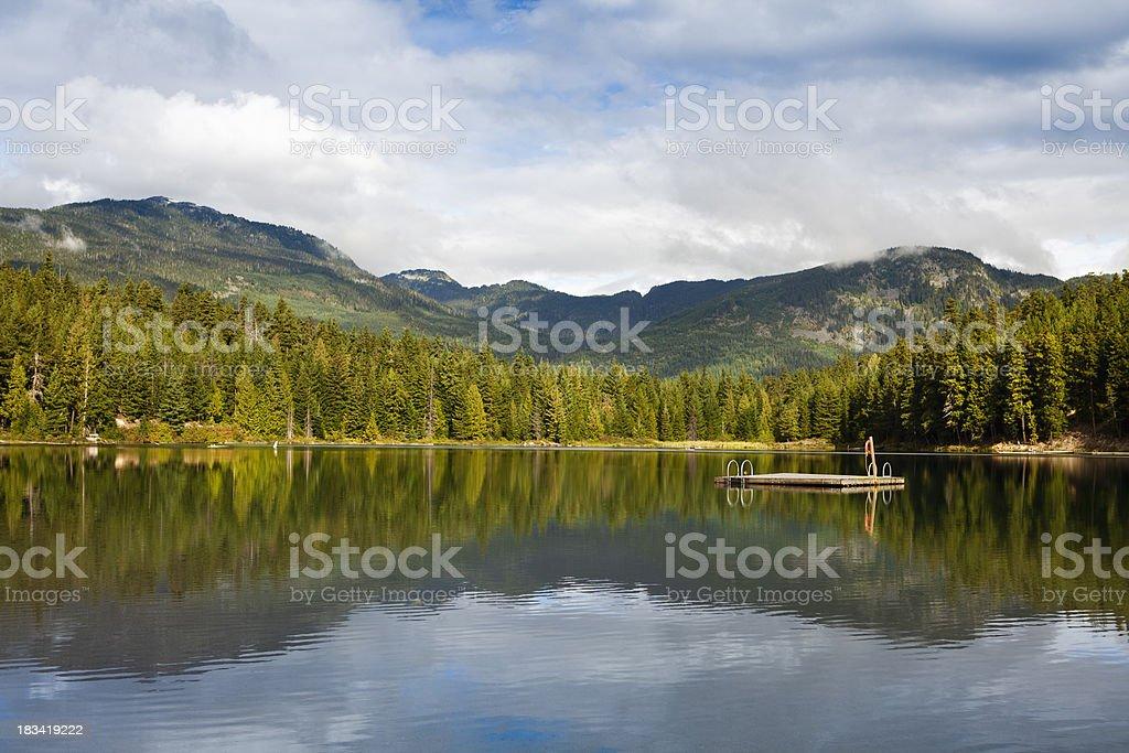 Whistler, British Columbia royalty-free stock photo