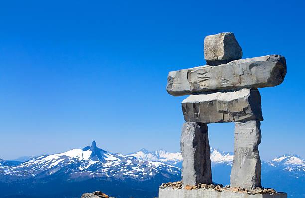 Whistler Mountain Inukshuk - Photo