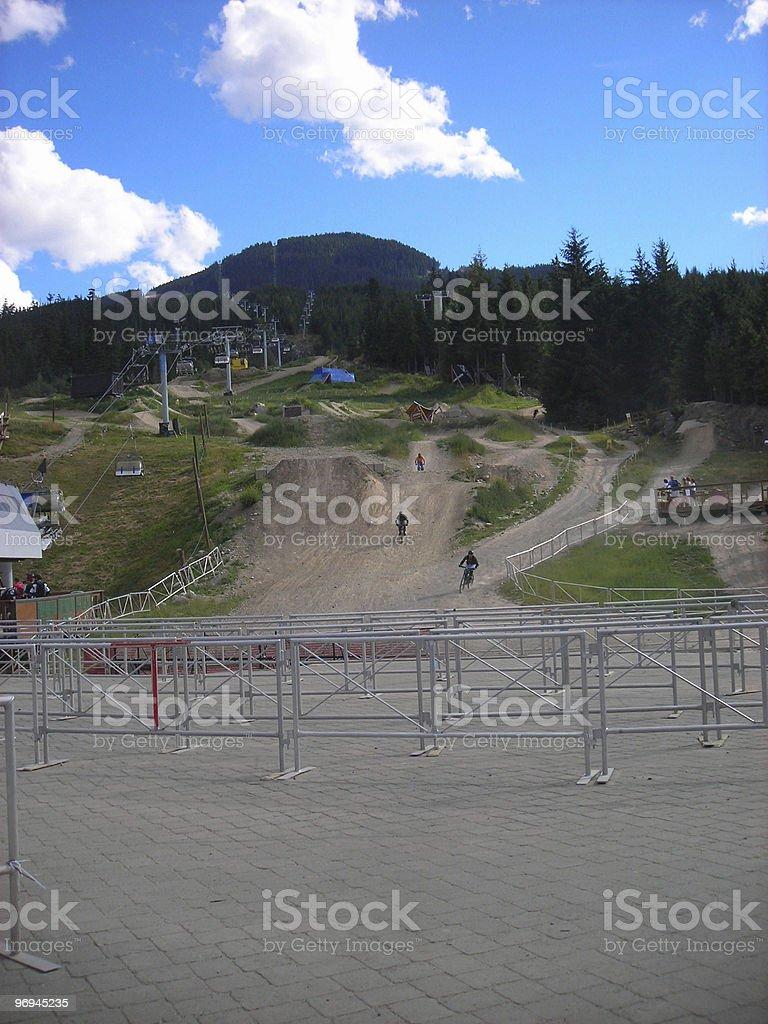 Whistler Ski Resort During The Summer royalty-free stock photo