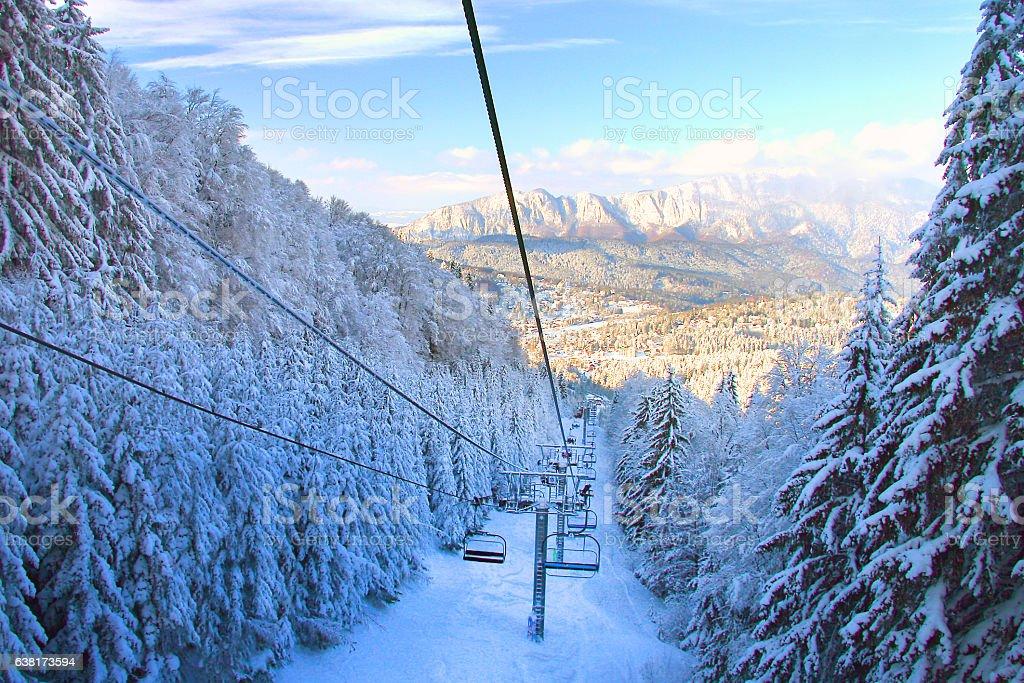 Whistler Ski Resort im Winter – Foto
