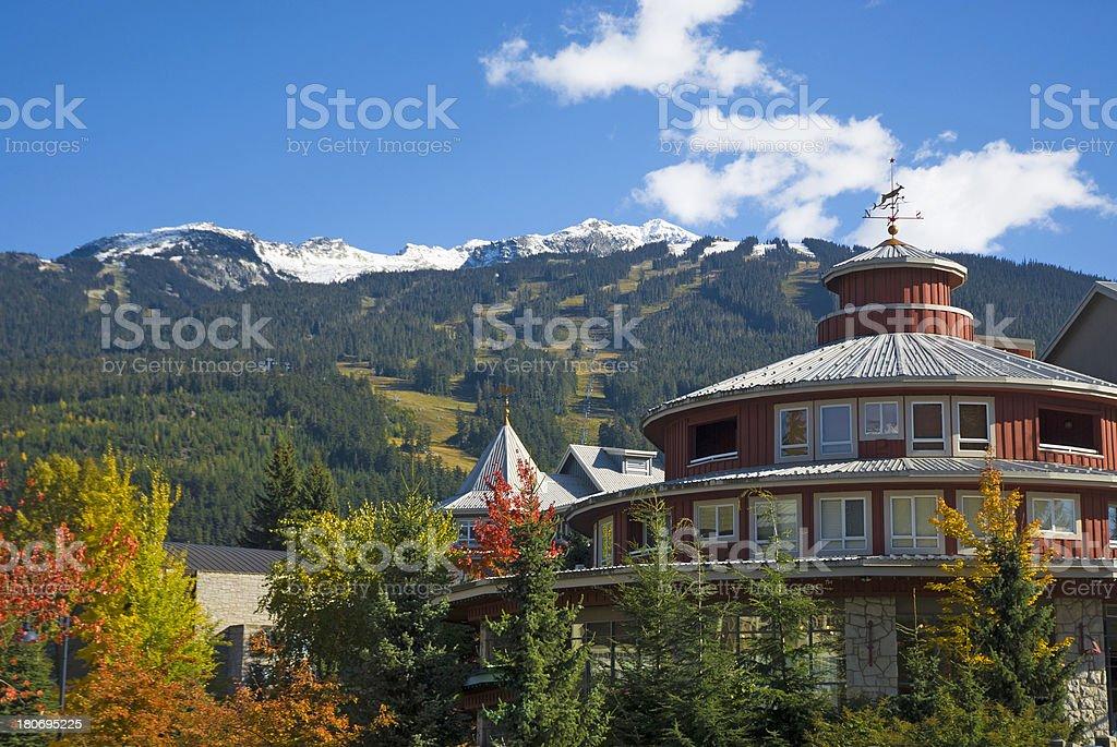 Whistler Village stock photo