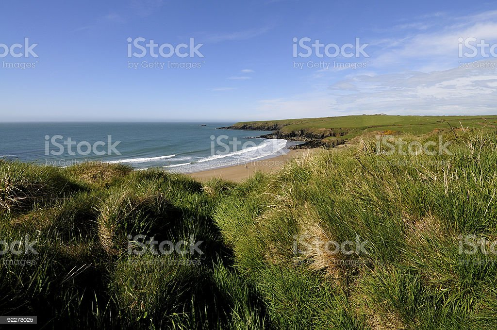 Whistling Sands stock photo